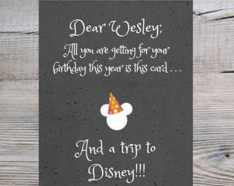 Disney trip, surprise Disney Trip, Surprise Disney Reveal, printable