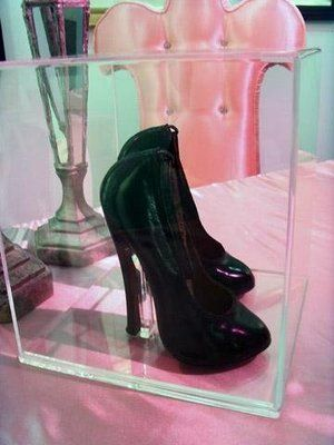 Bettie Page's shoes...