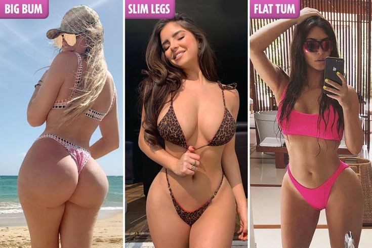 'Slim Thick' is THE body shape celebs are striving for this summer — The Sun