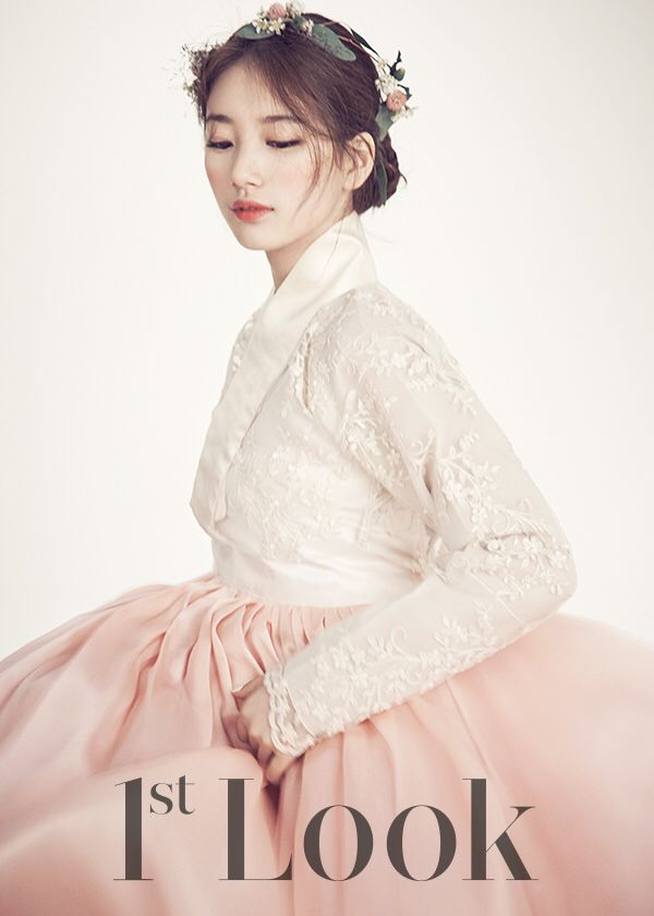 Suzy in beautiful hanbok