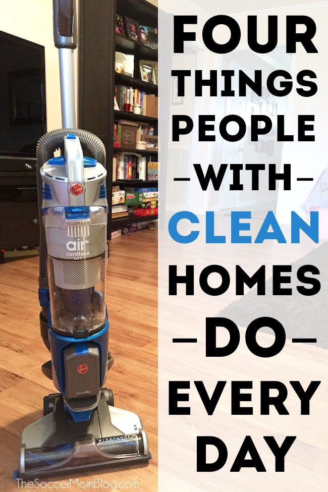 4 Things I Do Every Night To Make My House Look Clean In Minutes