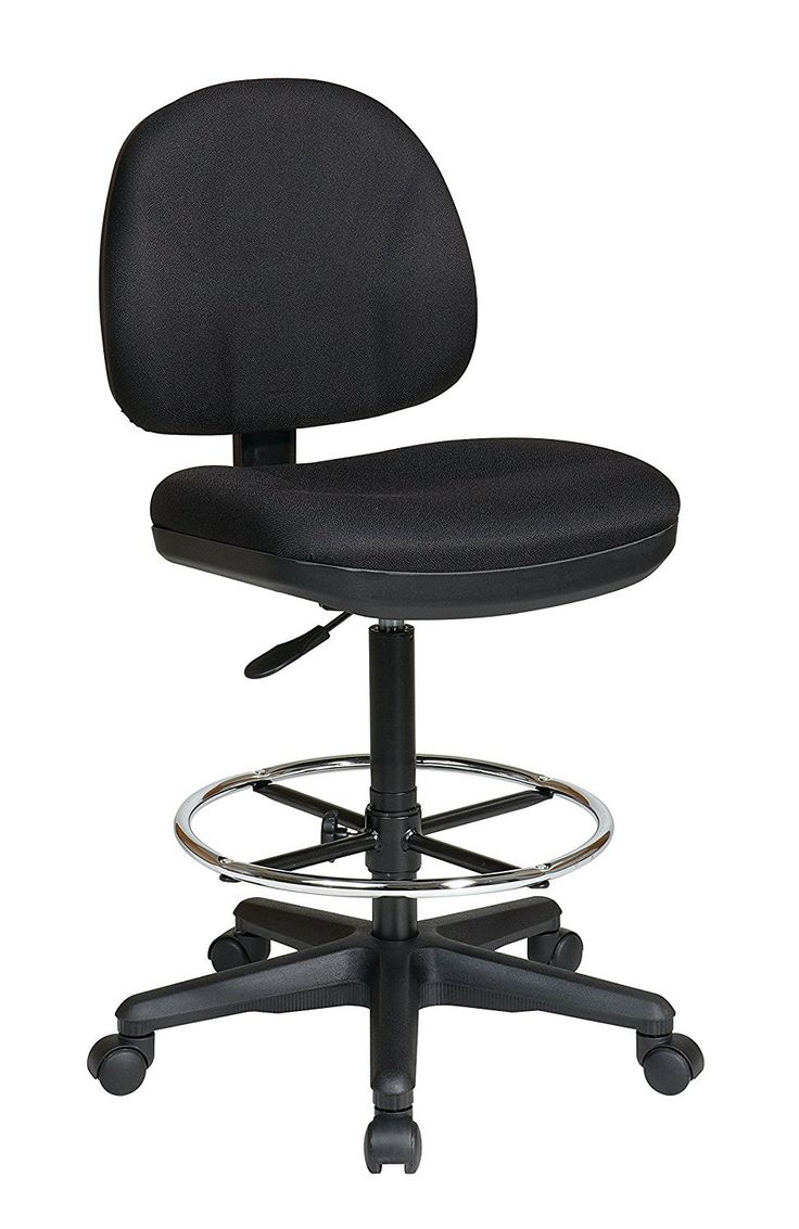 Office chair for drafting table - Work Smart Dc630 Sk1 231 Drafting Chair With Stool Kit