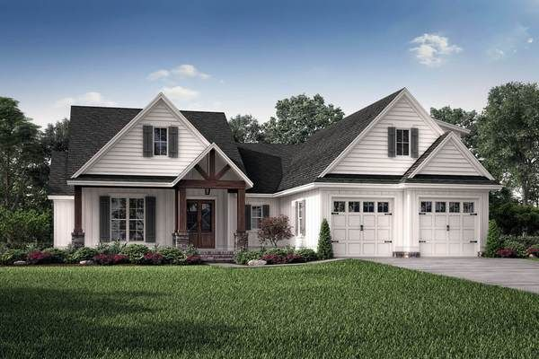 Millwood House Plan Ranch Style House Plans Craftsman House Plans Country Style House Plans