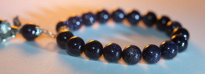 'Like a shining star'-black sunstone mineral bracelet  10mm mysterious deep black bracelet.  http://www.meska.hu/ProductView/index/1109818