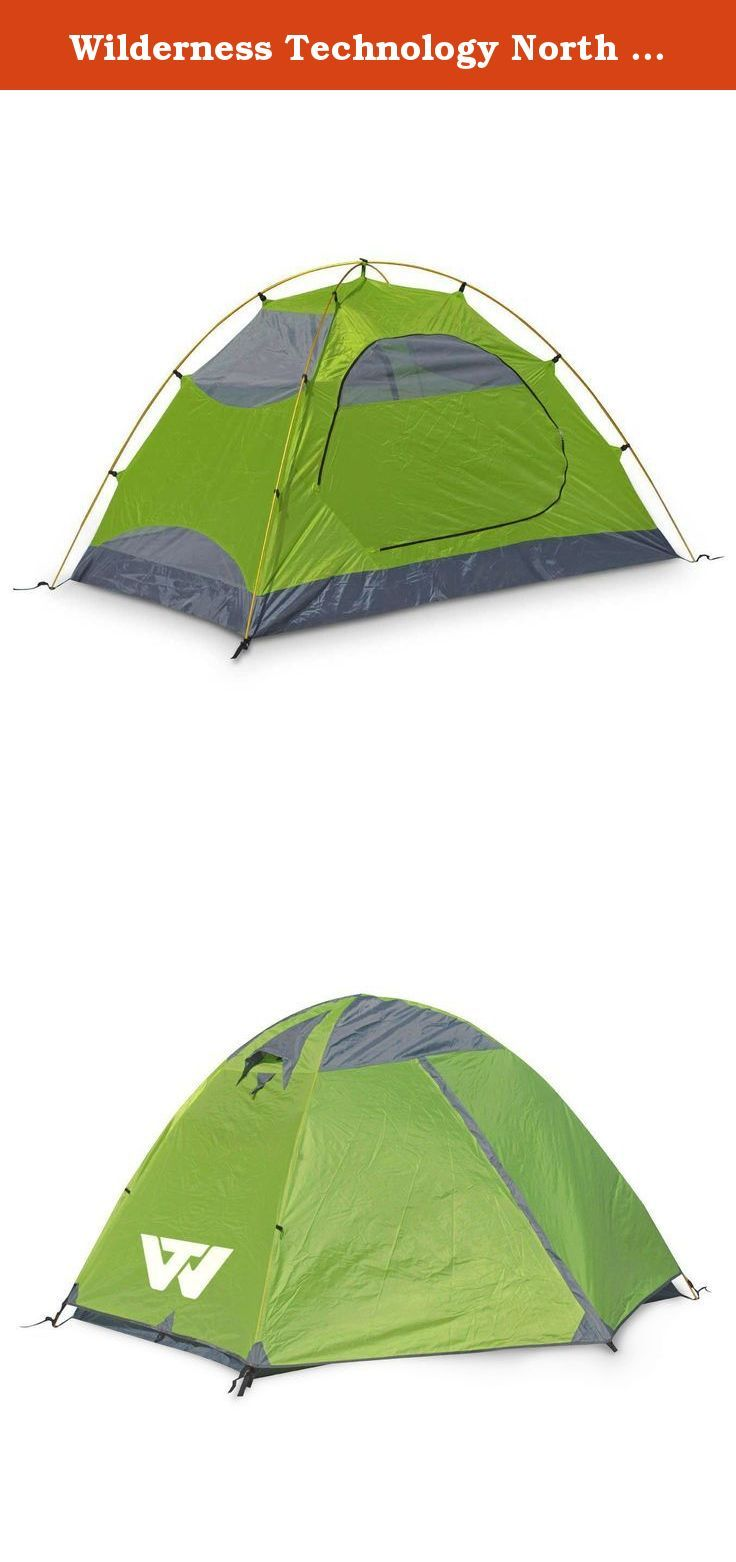 Wilderness Technology North Duo Tent. No mater what direction you are headed on your next adventure, the Wilderness Technology North Duo will be there to keep you protected from the elements. This two person tent features two entries with vestibules, lightweight aluminum poles, as well as a full rain fly for rainy days. The tent floor and rain fly are treated with a polyurethane waterproof coating to keep out the morning dew.