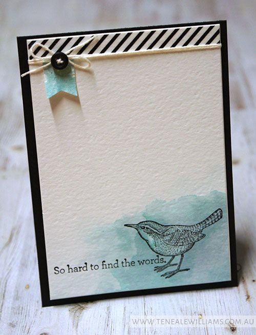 By Teneale Williams   INKspired Sketch #INK013   An Open Heart Stamp Set from Stampin' Up!