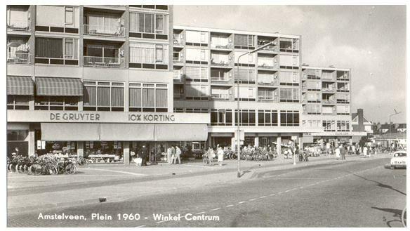 Oud Amstelveen plein 1960