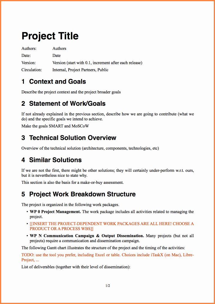 Project Proposal Template Free In 2020 Project Proposal Template