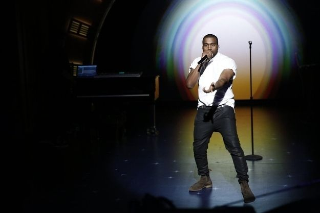 """And finally, in honor of College Dropout's 10th anniversary, he then performed a medley of SEVEN songs spanning his SEVEN career albums. 
