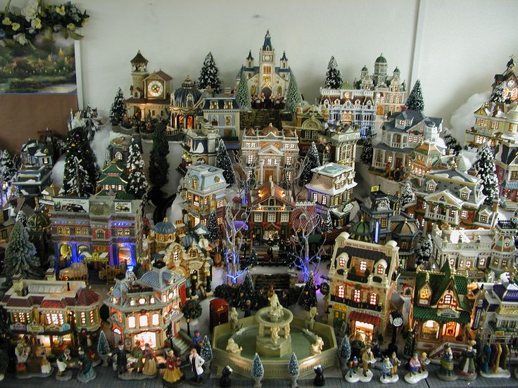 501 best Christmas Village images on Pinterest | Christmas ...