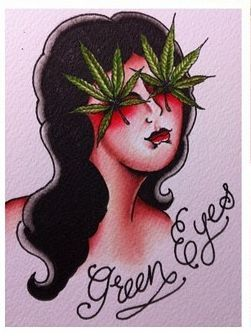 weed #kush #dope #ink #tattoo | My Kind Friend Mary Jane | Pinterest