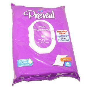 Prevail Quilted Cleansing Wipes, 8 x 12 in., 576 ct (12 packs of 48) by Prevail. Save 29 Off!. $49.94. Enhanced with lotion for improved skin health.. Quilted cotton naturally enhances the washcloth's thickness, strength & absorbency. Alcohol Free, Latex Free & Clinically tested.. Large 8 x 12 in. size ideal for incontinence care. Convenient soft-pack with flip-top lid. Prevail Premium Cotton Washcloths are a thick, super strong and super soft, cotton enhanced fabric; these washcloths are…