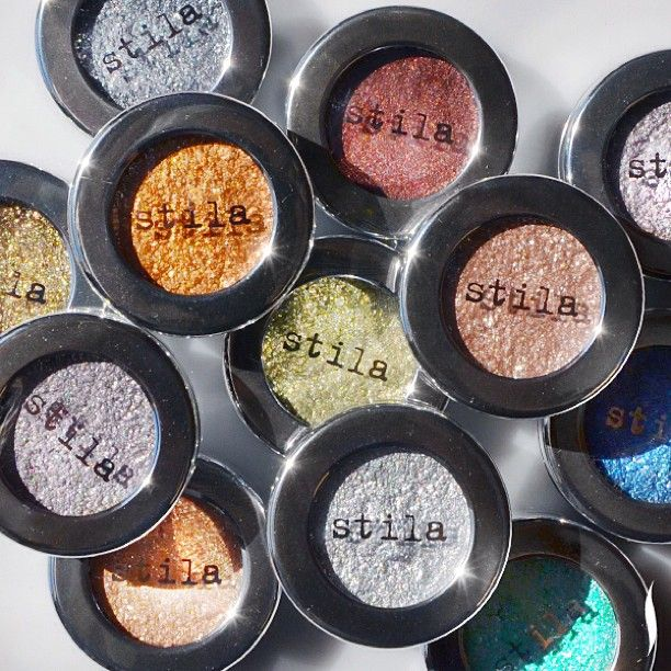 Get foiled. Stila Cosmetics eye shadows deliver a metallic finish like you've never seen. #WhatsNewWednesday #Sephora