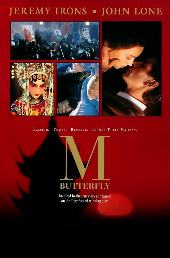 M Butterfly (1993) In 1960s China, French diplomat Rene Gallimard falls in love with an opera singer, Song Liling - but Song is not at all who Gallimard thinks Jeremy Irons, John Lone, Barbara Sukowa...TS romance
