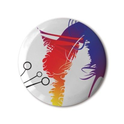 ❤️ #BBOTD Stereohype #button #badge of the day by FL@33 — #stbio4 #gradient #abstract #composition #hairy #rainbow #tanticles #colours #colourful #sun #bright #graphicdesign #illustration #graphicart #fashion #accessories #menstyle #menswear #mensfashion #womenstyle #womensfashion #style #lapel #pin #giftidea • Another Button Badge Motif Print contender. #stbbmp