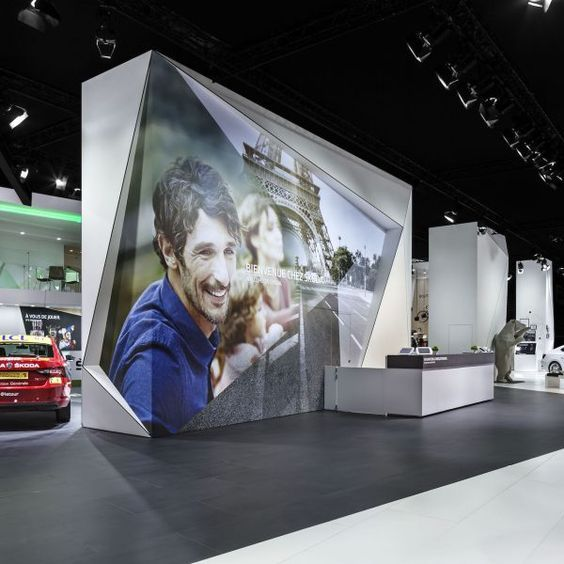 Koda Mondial De L Automobile Paris Exhibition Booth 2016