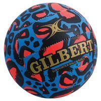 Gilbert Glam Blue Leopard Print Netball