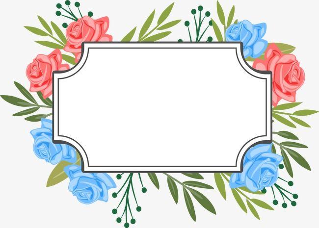 Linda Decoracao De Flores De Etiquetas Excelente Decoracao Flores Imagem Png E Psd Para Download Gratuito Flower Frame Floral Border Design Flower Printable