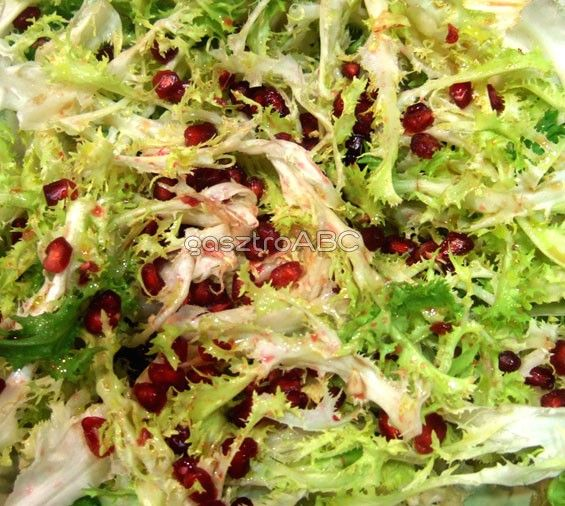 Spanyol gránátalmás saláta | Receptek