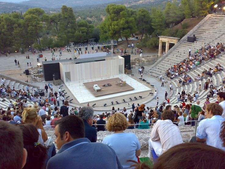 Theatre of Epidaurus,the best in acoustics!
