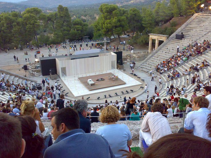 Theatre of Epidaurus,the best in acoustics!