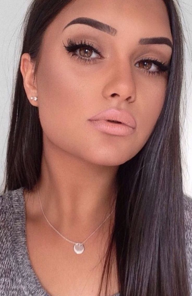 Matte Makeup and Coral Lips                                                                                                                                                                                 More