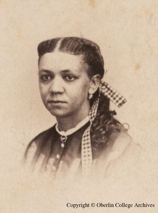 Fanny Jackson Coppin (b.1837 – d.1913) was an educator and missionary. Born an American slave, her freedom was purchased by her aunt at age 12. In 1860, she enrolled in Oberlin College in Ohio, the first US college to accept both black and female students. While a student, she taught an evening course for free African Americans in reading and writing, and she graduated with a Bachelor's degree in 1865 and become the first African American woman school principal (Institute for Colored Youth).