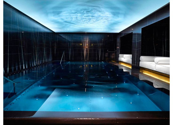 Espa london located within the luxurious corinthia hotel for Pool design london