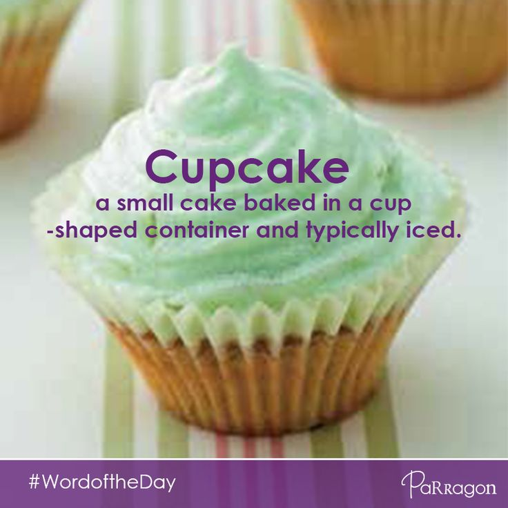 Our #wordoftheday is: cupcake. Do you like #cupcakes?