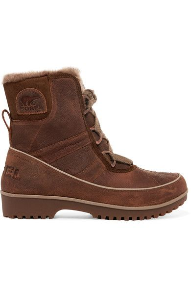 Sorel - Tivoli Ii™ Premium Waterproof Textured-leather Boots - Brown - US