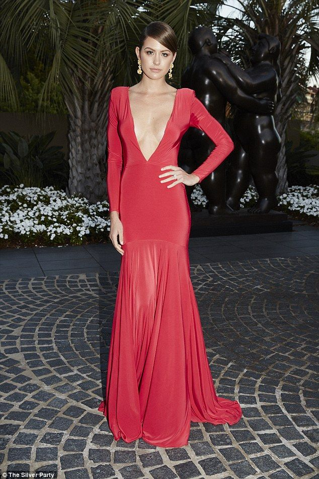Jesinta Campbell.. Ae'lkemi Louise Gown, with Valere Jewellery Marcella Earrings..