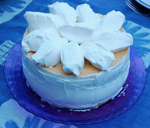 Madártej ízű torta