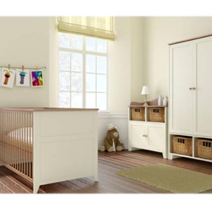 Buy Your Little Acorns Vanilla Roomset   Cotbed, Chest U0026 Wardrobe From  Kiddicare Nursery Furniture
