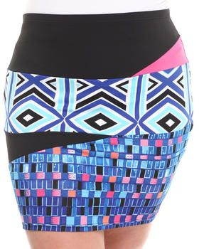 Love this Mixed Print Pencil Skirt (Plus) on DrJays and only for $16.98. Take a look and get 20% off your next order! Exclusions apply.