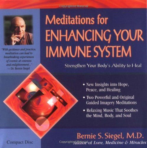 Meditations for Enhancing Your Immune System by Bernie Siegel, http://www.amazon.co.uk/dp/1561705349/ref=cm_sw_r_pi_dp_Zwggsb1Z46ABC