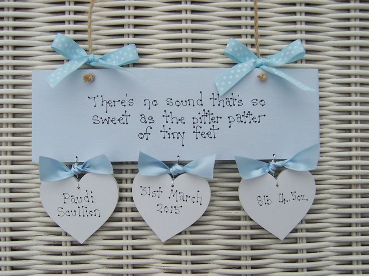 44 best personalised christening baby gifts handmade wooden signs personalised baby blue boy newborn christening baptism naming day gift present 1199 negle Gallery