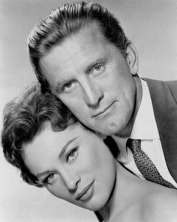 Bella Darvi & Kirk Douglas.