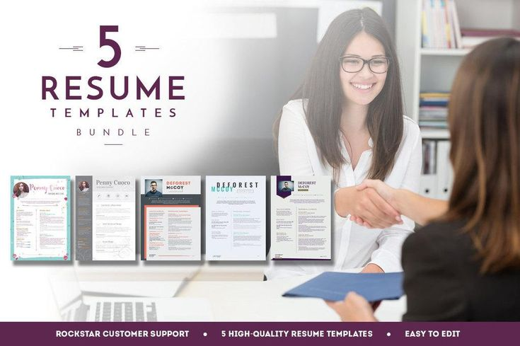 5 Resume Templates Bundle | 3 - Teacher Resume Word Resume Editable resume Modern Resume Template Resume Pictu http://t.co/Ntx8DdAMmh