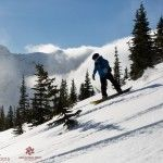 Castle Mountain Resort – A Skiers Paradise in southern Alberta.  The resort is less than 3 hours away from Calgary and offers both cat and resort skiing.