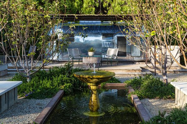 The Airstream--Rather than a stuffy guest house, the spacious grounds play host to a retro airstream trailer—the perfect spot for some parental alone time.