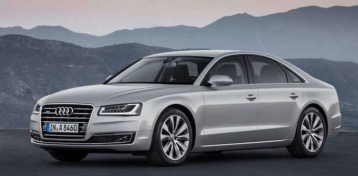 The New Facelift of Audi A8 (2014)! #cars #audi