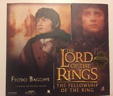 "SIDESHOW TOYS 12"" LOTR FRODO BAGGINS EXCLUSIVE Figure MINT in BOX RARE"