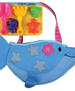 Stephen-Joseph-Dolphin-Beach-Tote #hammering toys #pounding toys #kids toy #cheap toys online #cheap kids toys