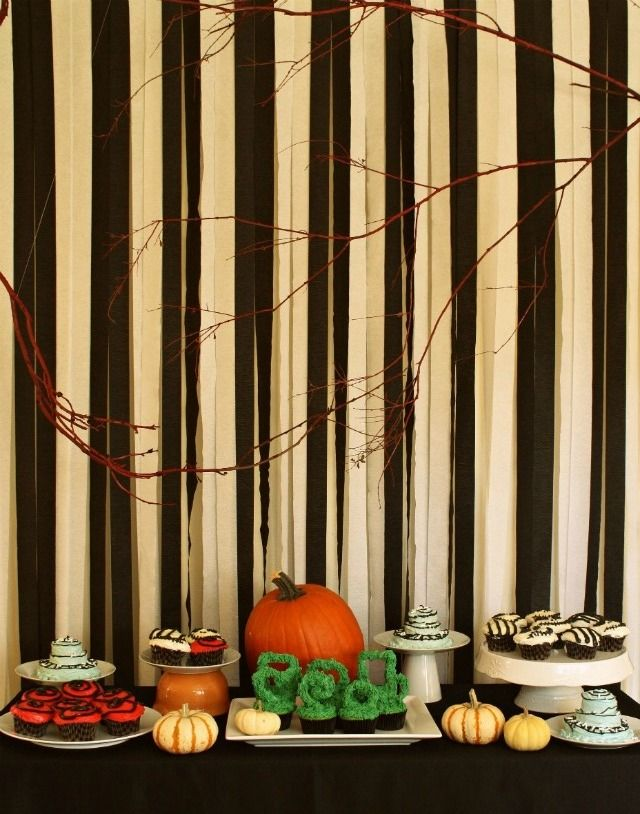 Tim Burton inspired Halloween Party or you could adapt for The Night Circus