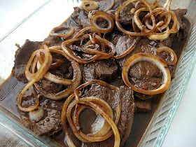 Filipino Foods Recipes: Beef Steak (Bistek) Filipino Recipe