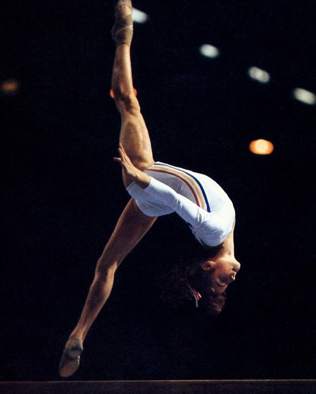 Nadja Comaneci / Romania Gymnastic Star