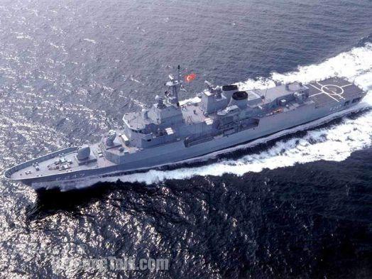 Turkish Navy frigate F-247 TCG KEMAL REİS.