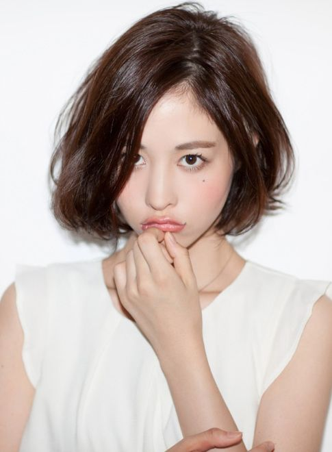 ニュアンスボブヘア 【Gran mash】 http://beautynavi.woman.excite.co.jp/salon/26422?pint ≪ #bobhair #bobstyle #bobhairstyle #hairstyle・ボブ・ヘアスタイル・髪型・髪形 ≫