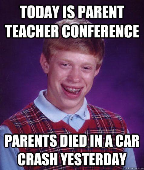 49 Best Images About Parent-Teacher Conference Memes On