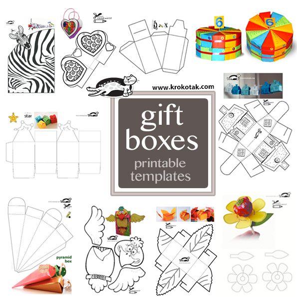 BOX TEMPLATES | krokotak